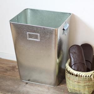 ゴミ箱 トタン L 日本製 6032|tremolo