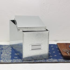 トタンのCDケース 収納箱 小物入れ日本製|tremolo