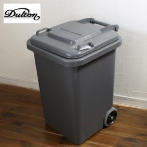 トラッシュカン ゴミ箱 ダストボックス45L グレー|tremolo