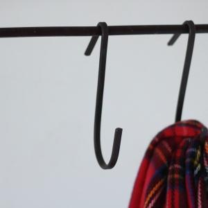 サイズ 幅:約6.5cm*奥行:約0.7cm*高さ:約14.3cm 素材:アイアン  壁掛けフック ...