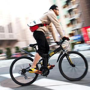 折りたたみマウンテンバイク MTB 折りたたみ自転車 DREADNOUGHT/ドレッドノート DN7001 26インチ シマノ18段変速 |trend-ex