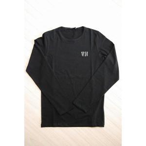 USUALIS メンズ ロングTシャツ 5428 ブラック|trend-exzakka