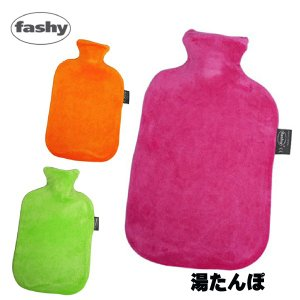 【Fashy ファシー】Velour Covered Hot Watar Bottle 2.0L ホットウォーターボトル ベロアカバー付き|trend-exzakka