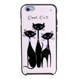 ケイトスペード Kate Spade 8ARU1578 974 Multi ビジューキャット 猫 ネコプリント アイフォンケース (iPhone 6|trend-exzakka
