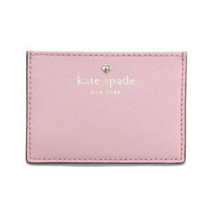 ケイトスペード Kate Spade PWRU4027 964 Pink Bonnet カードケース 名刺入れ Cedar Street Card H|trend-exzakka
