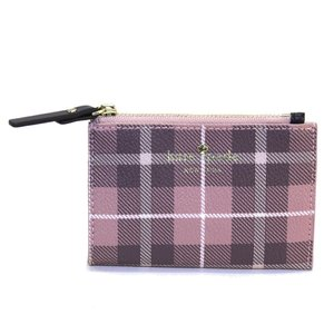 ケイトスペード Kate Spade PWRU5132 654 Pink Bonnet Multi チェック柄 キーリング付 コインケース Farim|trend-exzakka