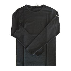 USUALIS ウザリス メンズ ロングTシャツ 6124 袖 ロゴスワロフスキー 2017AW|trend-exzakka