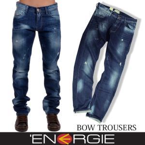 ENERGIE エナジー メンズ デニム ジーンズ ジーパン スリム テーパード 33インチ|trend-i