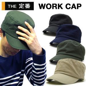 WORK CAP/ワークキャップ/メンズ/レディース/ キャップ/帽子/ハット/ベージュ オリーブ ネイビー ブラック|trend-i