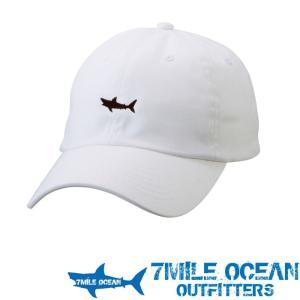 7MILE OCEAN メンズ キャップ 帽子 CAP ワンポイント ロゴ 刺繍 人気 ブランド アメカジ アウトドア ストリート 白 ホワイト|trend-i
