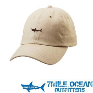 7MILE OCEAN メンズ キャップ 帽子 CAP ワンポイント ロゴ 刺繍 人気 ブランド アメカジ アウトドア ストリート ベージュ カーキ|trend-i
