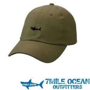 7MILE OCEAN メンズ キャップ 帽子 CAP ワンポイント ロゴ 刺繍 人気 ブランド アメカジ アウトドア ストリート ライトデニム オリーブ グリーン|trend-i