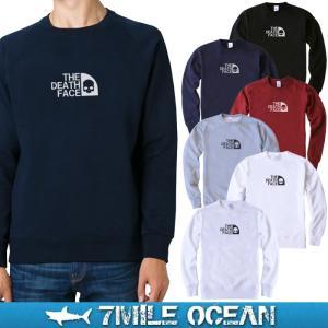 7MILE OCEAN/メンズ/スウェット/スウエット/トレーナー/スエット/無地/裏起毛なし/パイル地/おもしろ/ネタ/プリント/ロゴ|trend-i