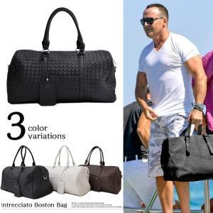 ボストンバッグ バック 2WAY メンズ レディース カジュアル ビジネス 鞄 PUレザー 黒 白 ブラック ホワイト ブラウン|trend-i