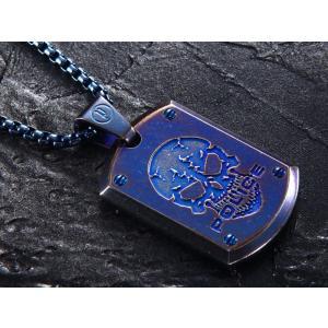 ポリス ネックレス POLICE ステンレス メンズ ネックレス ペンダント 25607PSEBL PROWLER|trend-watch