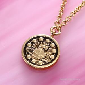 ヴィヴィアンウエストウッド ネックレス ペンダント Vivienne Westwood LD17212/1 TITANIA SMALL MEDAL trend-watch