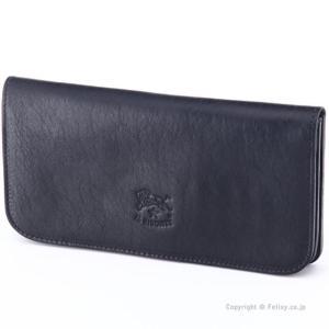 イルビゾンテ 長財布 IL BISONTE C0985 P 153 ブラック 小銭入れ付き 長財布|trend-watch