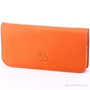 イルビゾンテ 長財布 IL BISONTE C0985 P 166 オレンジ 小銭入れ付き 長財布|trend-watch