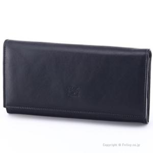 イルビゾンテ 長財布 IL BISONTE C0989 P 153 ブラック 小銭入れ付き 長財布|trend-watch