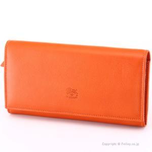 イルビゾンテ 長財布 IL BISONTE C0989 P 166 オレンジ 小銭入れ付き 長財布|trend-watch
