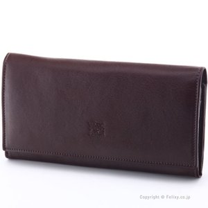 イルビゾンテ 長財布 IL BISONTE C0989 P 455 こげ茶 小銭入れ付き 長財布|trend-watch