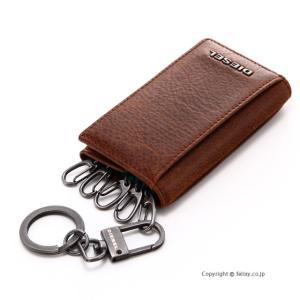 ディーゼル キーケース DIESEL FRESH STARTER KEY CASE O X03615 P1075 H6183 ブラウン|trend-watch