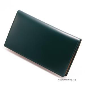 エッティンガー ETTINGER メンズ財布 長札入れ BH806AJR GREEN|trend-watch