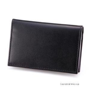 エッティンガー ETTINGER カードケース 名刺入れ ST143JR BLACK×PURPLE|trend-watch