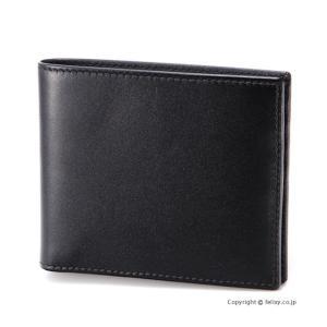 エッティンガー ETTINGER メンズ財布 二つ折り ST030CJR BLACK×PURPLE|trend-watch