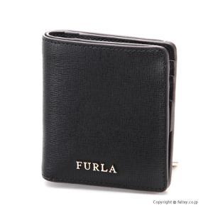 フルラ 2つ折り財布 FURLA 870999 PR74 B30 BABYLON バビロン ブラック|trend-watch