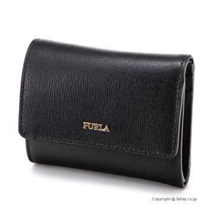 フルラ 3つ折り財布 FURLA 928985 PU04 B30 BABYLON バビロン ブラック|trend-watch