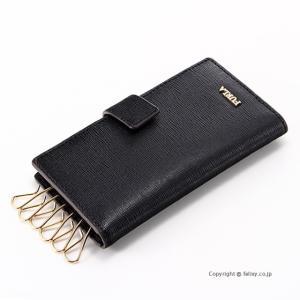 フルラ カードポケット付き6連キーケース FURLA 948259 RQ17 O60 ONYX BABYLON|trend-watch