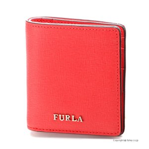 フルラ 2つ折り財布 FURLA 962928 PR74 DET IBISCO BABYLON|trend-watch