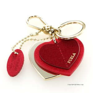 フルラ FURLA キーリング 979342 RT25 RUB RUBBY キーホルダー Venus Heart Keyring|trend-watch