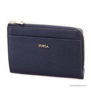 フルラ カードケース/コインケース FURLA 1034293 PR75 B0L BLUE NOTTE BABYLON M CREDIT CARD CASE|trend-watch