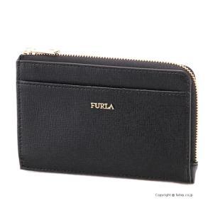 フルラ カードケース/コインケース FURLA 907847 PR75 O60 ONYX BABYLON M CREDIT CARD CASE|trend-watch