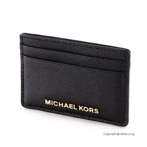 マイケルコース MICHAEL KORS カードケース 32S4GTVD1L/001 BLACK|trend-watch
