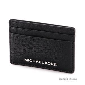 マイケルコース MICHAEL KORS カードケース 32S4STVD1L/001 BLACK|trend-watch