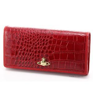 ヴィヴィアンウエストウッド 財布 Vivienne Westwood 1032V30V NEW CHANCERY ROSSETTO 小銭入れ付き長財布 ヴィヴィアン 長財布|trend-watch