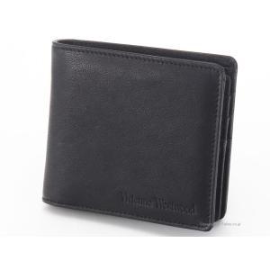 ヴィヴィアンウエストウッド 財布/札入れ Vivienne Westwood 3886V MAN LOGO NERO 二つ折り財布 ヴィヴィアン 財布|trend-watch