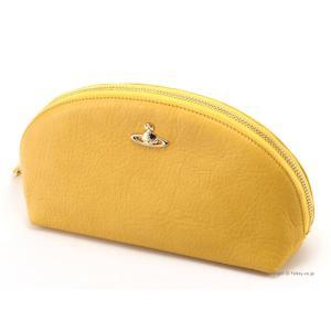 ヴィヴィアンウエストウッド ポーチ 32780 PAPER YELLOW Vivienne Westwood 化粧ポーチ/コスメポーチ ヴィヴィアンウエストウッド バッグ|trend-watch