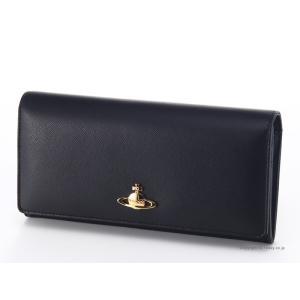 ヴィヴィアンウエストウッド 財布 Vivienne Westwood 2800V SAFFIANO BLACK 小銭入れ付き長財布|trend-watch