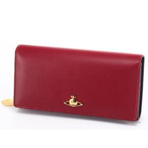 ヴィヴィアンウエストウッド 財布 Vivienne Westwood 1032V SAFFIANO RED 小銭入れ付き長財布|trend-watch