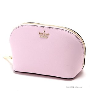 ケイトスペード KATE SPADE 化粧ポーチ/コスメケース PWRU5287 952 Cameron Street Small Abalene Pink Lemonade|trend-watch