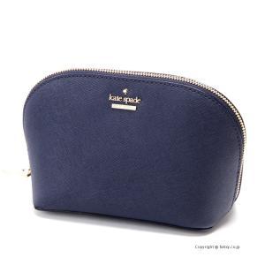 ケイトスペード KATE SPADE 化粧ポーチ/コスメケース PWRU5287 429 Cameron Street Small Abalene Blazer Blue|trend-watch