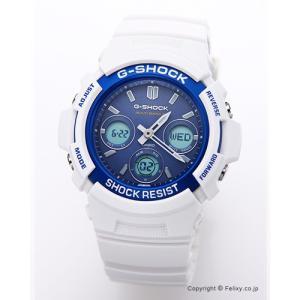 カシオ 腕時計 G-SHOCK (ジーショック) AWG-M100SWB-7A 電波ソーラー (海外モデル)