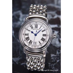 アエロウォッチ 腕時計 メンズ Collection1942 Gent (コレクション1942) ホワイトシルバー A42900AA01M|trend-watch