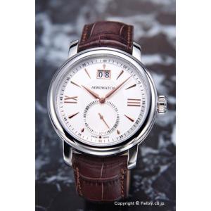 アエロウォッチ 腕時計 メンズ Renaissance Elegance (ルネッサンス エレガンス) シルバー A41937AA04|trend-watch