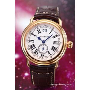 AEROWATCH アエロウォッチ 腕時計 メンズ コレクション1942 シルバー A41900RO01|trend-watch