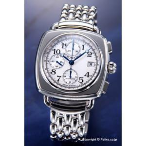 AEROWATCH アエロウォッチ 腕時計 メンズ Collection1942 クロノグラフ シルバー A61912AA10SM 替えベルトセット|trend-watch